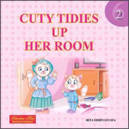 Cuty Tidies Up Her Room