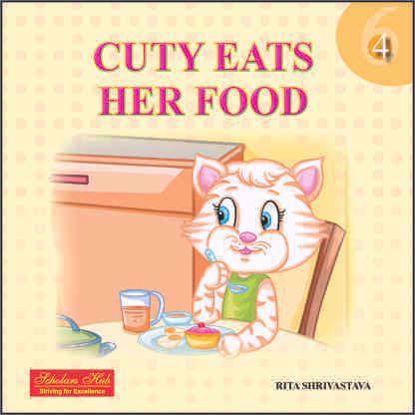 Cuty Eats Her Food