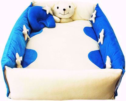 play-mat-with-pillow-blue-and-white
