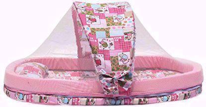 mattress-with-mosquito-net-pink-animal