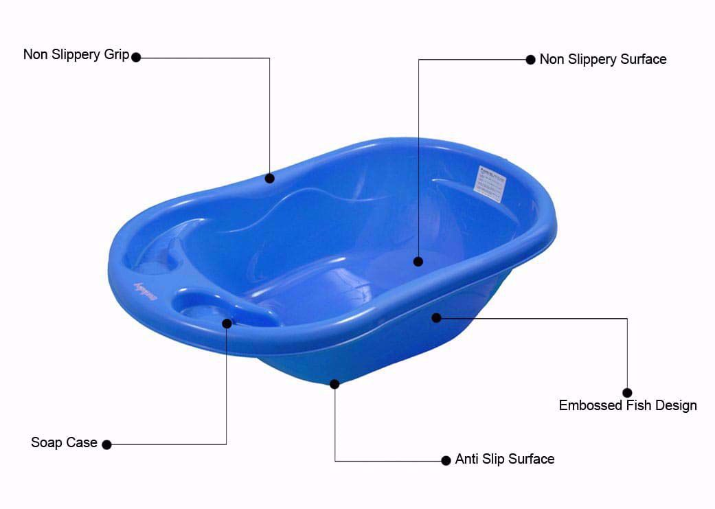 Bathing Tub-And Sling Combo-Red