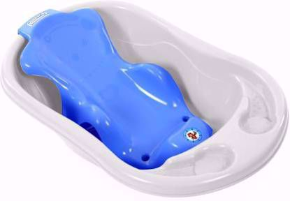 Bathing Tub And Sling Combo- White & Blue