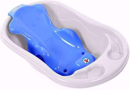 Bathing Tub And Sling Combo- White & Blue