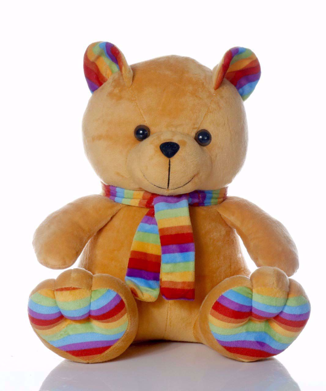 Muffler Teddy Bear-Brown