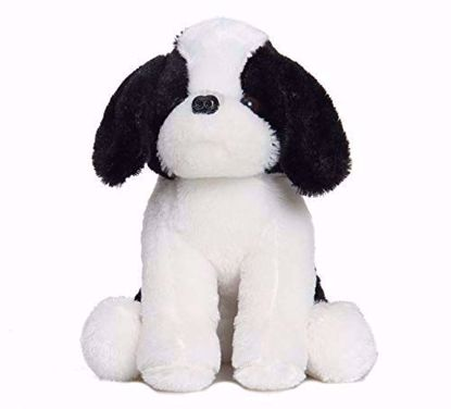 Dog Whit & Black- 20 Cm