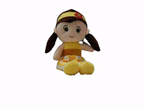 Baby Rag Doll Yellow-35 Cm