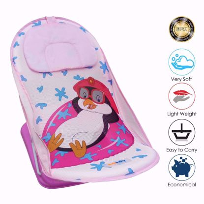 Baby Bather Penguin-Pink