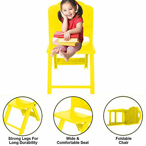 Folding Chair- Yellow