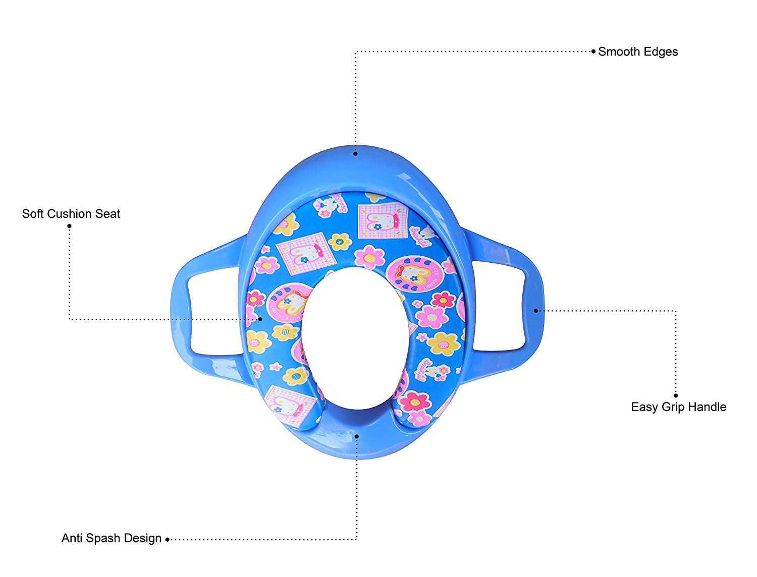 Baby Potty Trainer -Blue