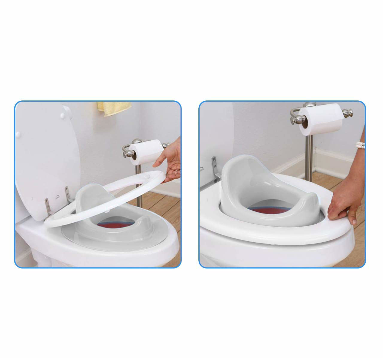 Baby Potty Set Trainer -White