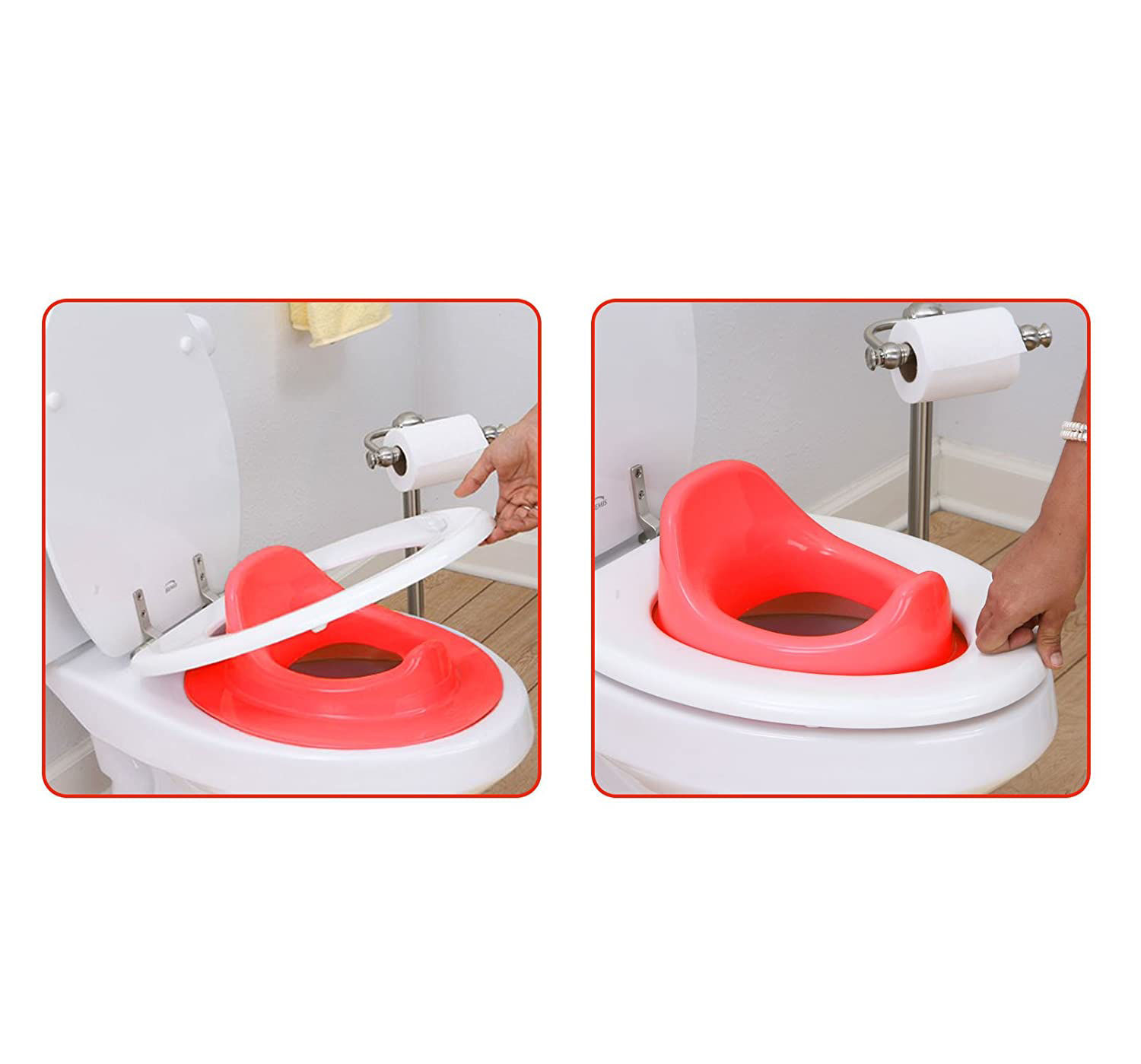 Baby Potty Set Trainer -Red
