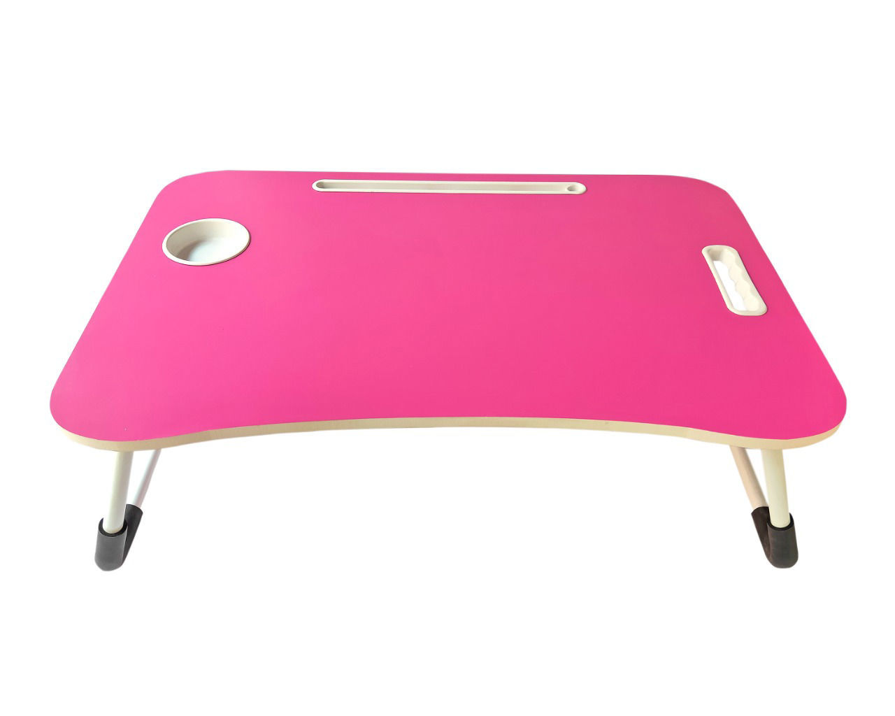 Wooden Bed Table -Pink