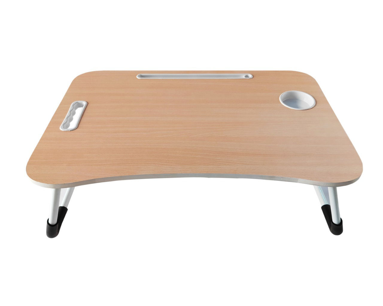 Wooden Bed Table -Cream