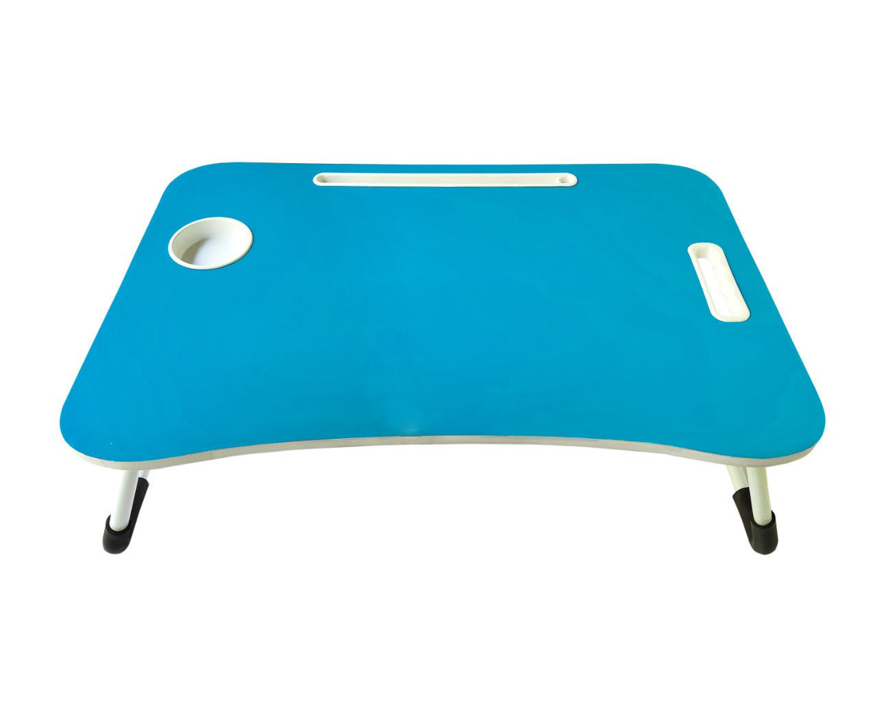 Kids Wooden Bed Table- Blue