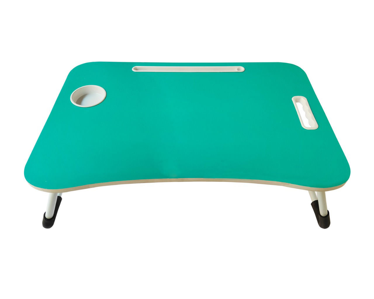 Kids Wooden Bed Table- Green
