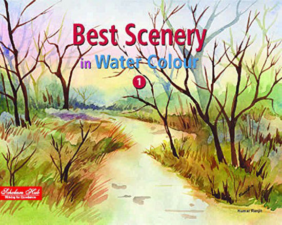 Picture of Best Scenery-In Water Colour Vol-1