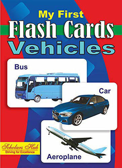My First Flash Cards-Vehicles