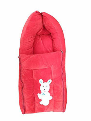 Sleeping and Carry Bag 0-6 Months Red