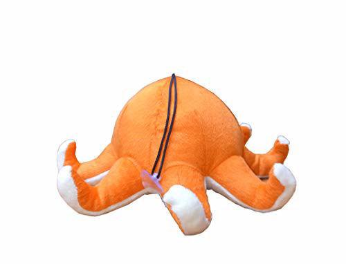 Octopus Soft Toy for Kids 23 cm Orange