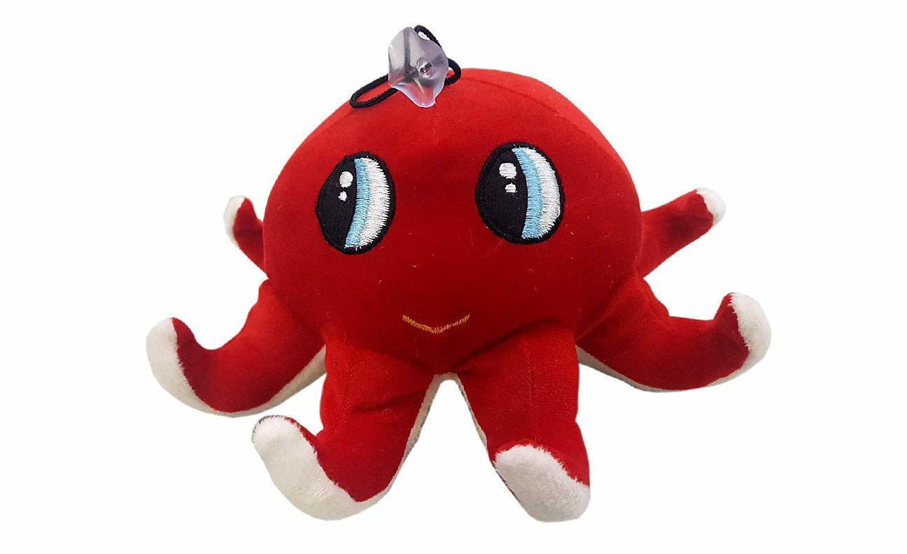 Octopus  23 cm -Red
