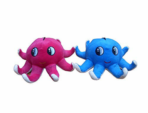 Picture of Octopus Soft Toys  23 Cm- Blue & Pink