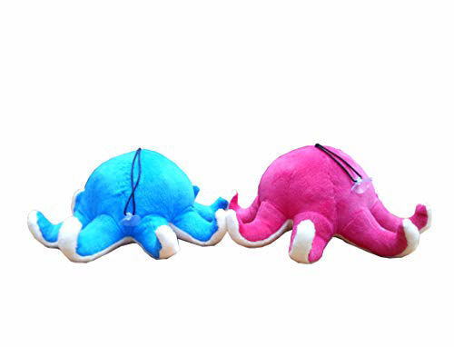Octopus Soft Toys 23 Cm- Blue & Red
