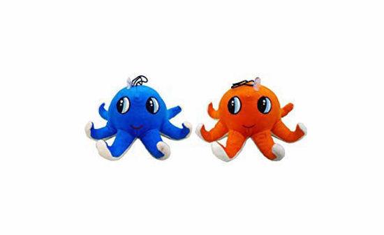 Kids Little Octopus 23 Cm -Blue & Orange