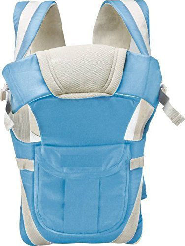 4-in-1 Adjustable Baby Carrier-Blue