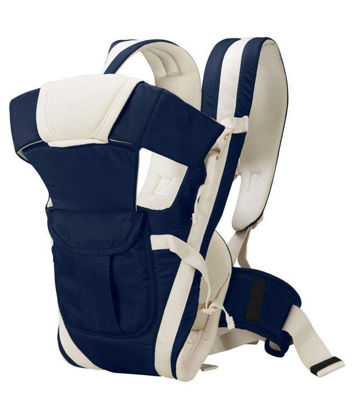 4-in-1 Adjustable Baby Carrier Bag -Navy Blue