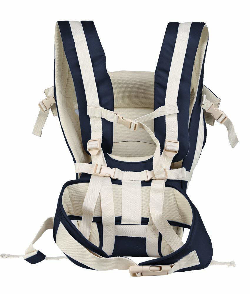 4-in-1 Adjustable Baby Carrier Bag -Navy Blue