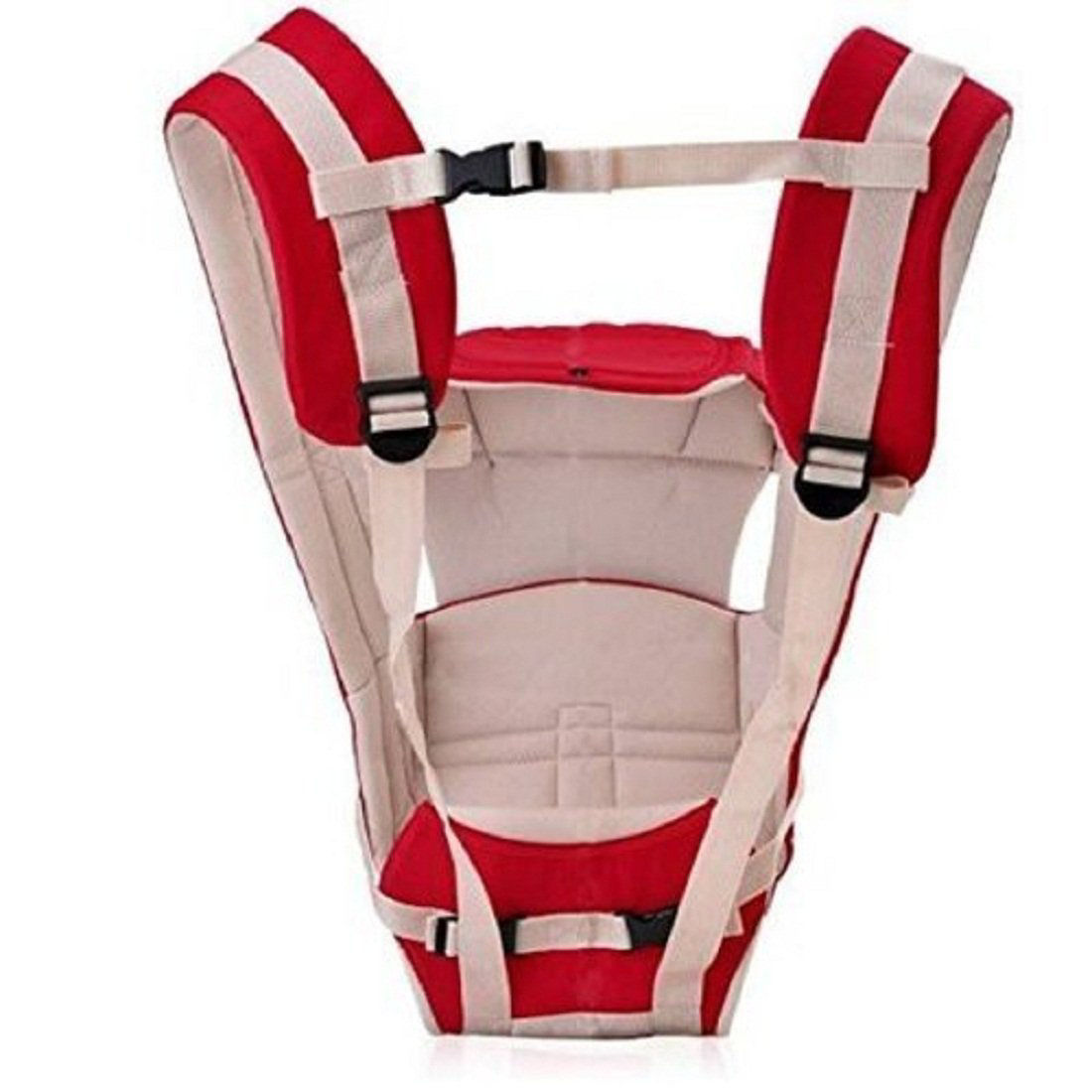 4-in-1 Adjustable Baby Carrier Bag-Red