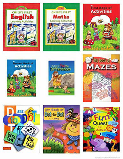 Picture of Scholars Hub Pre-Primary Activity Book -Set Of 9 Books