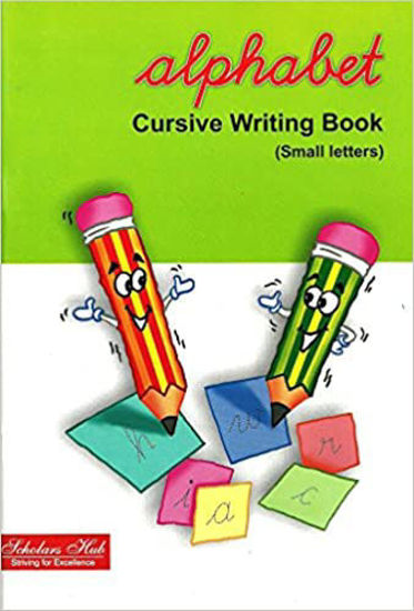 Alphabet Cursive Writing-Small
