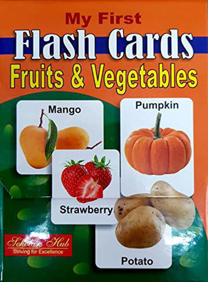 My First Flash Cards-Fruits & Vegetables