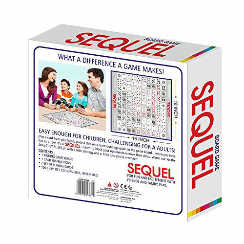 Sequel Board Game Family- Card